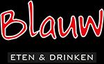 Logo blauw eten en drinken vacatures